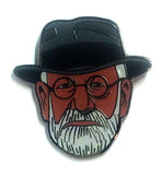 Sigmund Freud Lapel Pin