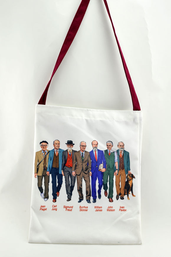 Famous Psychologist Researchers Tote bag