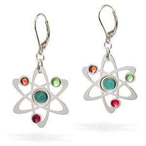 Science Symbol Earrings