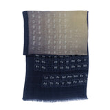periodic table of elements scarf