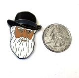 Charles Darwin pin science pin science lapel pin