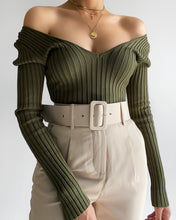 Load image into Gallery viewer, Ashlyn Bodysuit (Olive)