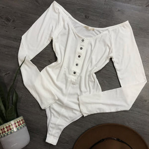 Angel Baby Long Sleeve (Soft White)