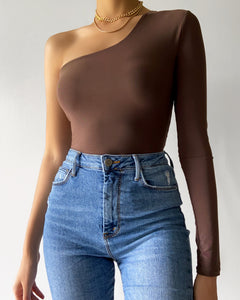 Maribel Bodysuit (Mocha)