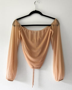 Cecilia Crop Top (Nude)
