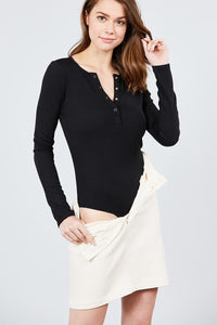 Aria Bodysuit (Black)