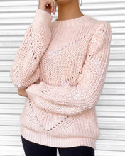 Load image into Gallery viewer, Beverly Blush Sweater