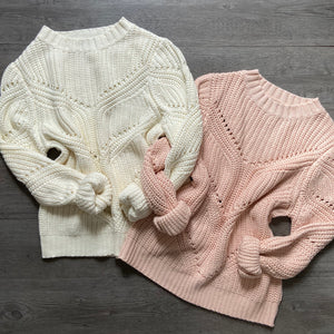 Beverly Blush Sweater