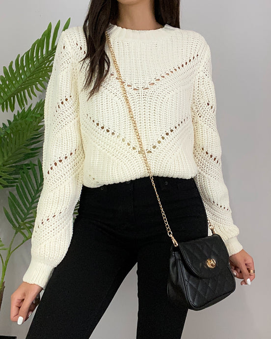 Beverly Vanilla Sweater