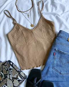 Nelly Crop Top (Coco)