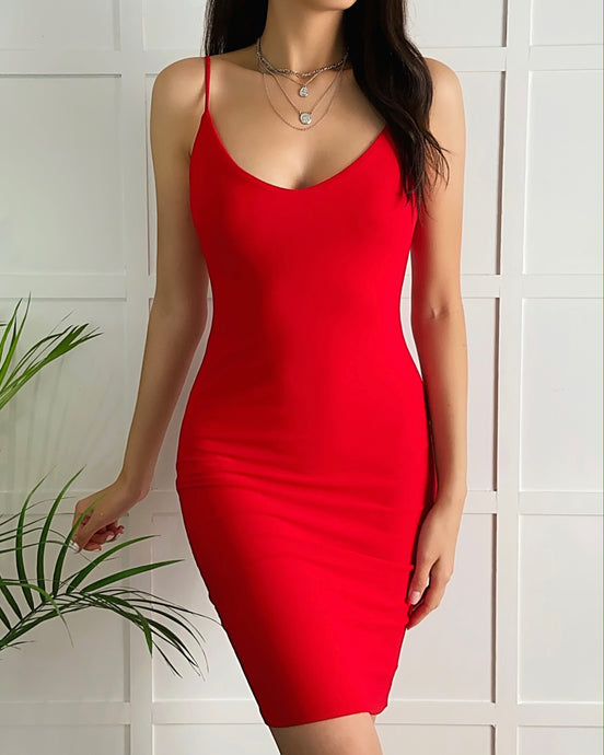 Be Mine Midi Dress