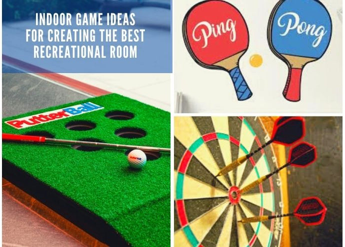 3 Indoor Game Ideas for Creating the Best Recreational Room