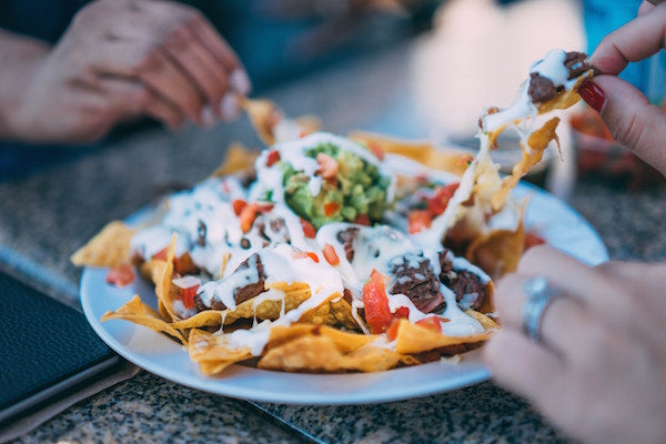 Nachos, Mexican Food from Olvera Street