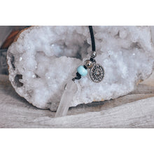 Load image into Gallery viewer, Turquoise Crystal Multilayered Necklace