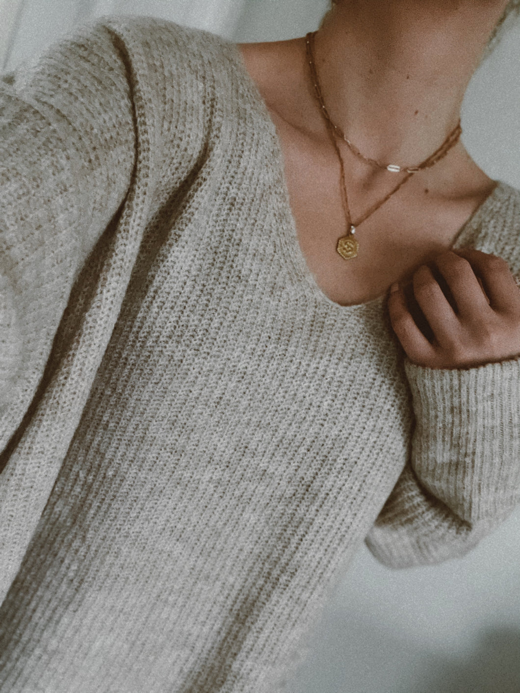 Charlotte Sweater Cream