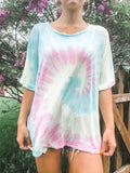 Cotton Candy Swirl Tee