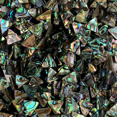 Abalone 12mm Triangles