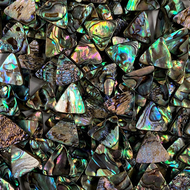 Abalone 18mm Triangles