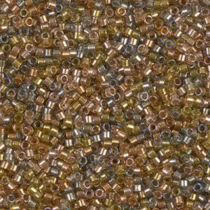 DB0981: SPARKLING LINED SAND DUNE MIX  DELICA 11/0