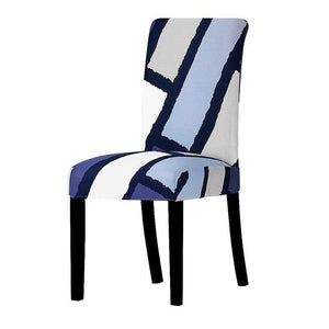 Oiko Store  02 / Universal Size Universal size Stretch Chair Cover Big Elastic Seat Chair Covers Painting Slipcovers Restaurant Banquet Home Party Decoration