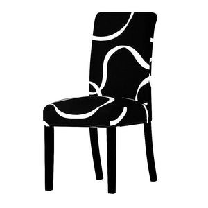 Oiko Store  03 / Universal Size Universal size Stretch Chair Cover Big Elastic Seat Chair Covers Painting Slipcovers Restaurant Banquet Home Party Decoration