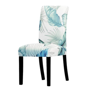 Oiko Store  04 / Universal Size Universal size Stretch Chair Cover Big Elastic Seat Chair Covers Painting Slipcovers Restaurant Banquet Home Party Decoration
