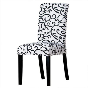 Oiko Store  07 / Universal Size Universal size Stretch Chair Cover Big Elastic Seat Chair Covers Painting Slipcovers Restaurant Banquet Home Party Decoration