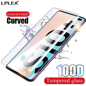 Oiko Store  100D Curved Protective Glass For Samsung Galaxy Note 8 9 10 Plus Screen Protector For S10e S7 edge S8 S9 S10 Plus Tempered Glass