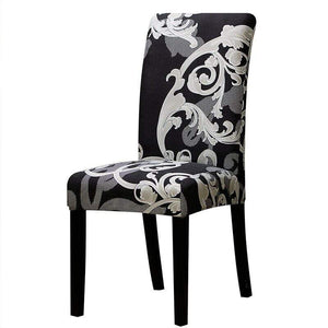 Oiko Store  11 / Universal Size Universal size Stretch Chair Cover Big Elastic Seat Chair Covers Painting Slipcovers Restaurant Banquet Home Party Decoration