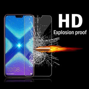 Oiko Store  3-1Pcs/lot Full Tempered Glass For Huawei P20 Lite Screen Protector Glass For Huawei P20 P20 Pro P30 Honor 9 10 Lite Honor 8X 9X
