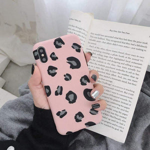 Oiko Store  3013 / For 6 Plus 6s Plus Lovebay Leopard Print Phone Case Cover For Iphone XS Max XR X 8 7 6 6S Plus 11 Pro Luxury Soft Back Cases Colorful Fashion Shell