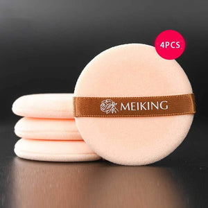 Oiko Store  4pcs Makeup Sponge Professional Cosmetic Puff For Foundation Concealer Cream Make Up Blender Soft Water Sponge Wholesale p34
