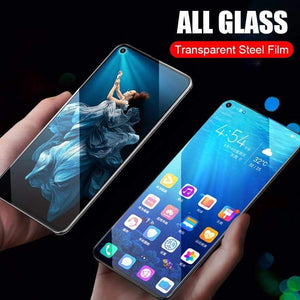 Oiko Store  4PCS Tempered Glass for huawei p30 lite p20 pro mate 20 Screen Protector Protective Glass Honor 20i 20 10i 8S 8X 9 10 Lite Glass