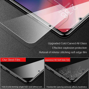 Oiko Store  4Pcs Tempered Glass For Xiaomi Redmi Note 7 6 5 8 Pro 6A Screen Protector Protective Glass For Redmi Note 8 7 5 Plus 7A 5A Glass