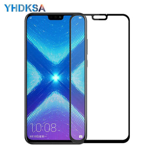 Oiko Store  9D Protective Glass For Huawei Honor 8X 9i 10i 20i V20 V10 V9 Play 8C 8A Note 10 Magic 2 Screen Protector Tempered Glass Film