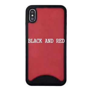Oiko Store  Black and Red / For iPhone 11 Pro / Only case Fashion Sneakers 3D touch Luxury Phone cover Phone Case for iphone 11 pro max 7 7plus 8 6 6s plus X back Cover XR XS Max Fundas