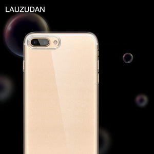 Oiko Store  Clear Phone Case For iPhone 7 Case iPhone XR Case Silicone Soft Back Cover For iPhone 11 Pro XS Max X 8 7 6 6s Plus 5 5S SE Case