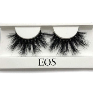 Oiko Store  E05 white tray Mikiwi 25mm False Eyelashes Wholesale Thick Strip 25mm 3D Mink Lashes Custom Packaging Label Makeup Dramatic Long Mink Lashes