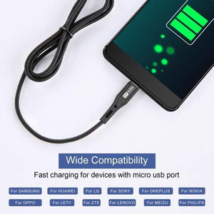 Oiko Store  GTWIN 3M USB Type C Cable For iPad Pro Samsung A50 USB C Mobile Phone Charger Fast Charging Type C Cable for Huawei P30 Xiaomi