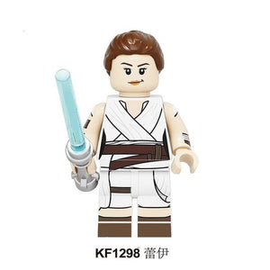 Oiko Store  KF1298 Without Box Building Blocks Wars Bricks Darth Vader Yoda Rey PoE Dameron Mandalorian Jango Fett Drabatan Figures For Children Toys KF6111