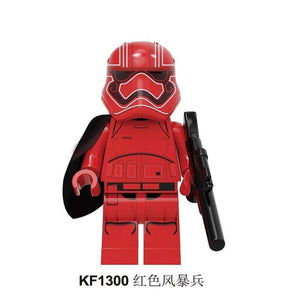 Oiko Store  KF1300 Without Box Building Blocks Wars Bricks Darth Vader Yoda Rey PoE Dameron Mandalorian Jango Fett Drabatan Figures For Children Toys KF6111