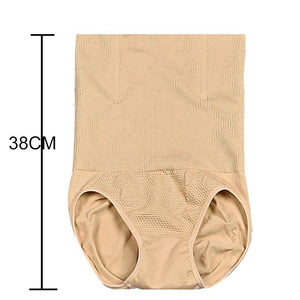 Oiko Store  Khaki / 4XL Seamless Women Shapers High Waist Slimming Tummy Control Knickers Pants Pantie Briefs Magic Body Shapewear Lady Corset Underwear