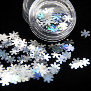 Oiko Store  Laser Snowflake KM GLITTER Top Popular Best Sales Chunky Mixed Fairy Face Body Craft Rose Sequins Manicure Rose Gold Glitter for Nail Decoration
