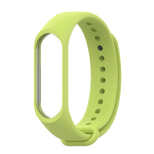 Oiko Store  Lingt Green / for mi band 3 Bracelet for Xiaomi Mi Band 4 3 Sport Strap watch Silicone wrist strap For xiaomi mi band 3 4 accessories Miband 3 4 Strap