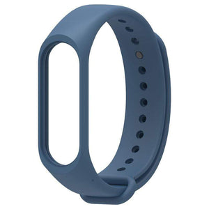Oiko Store  Midnight Blue / for mi band 3 Bracelet for Xiaomi Mi Band 4 3 Sport Strap watch Silicone wrist strap For xiaomi mi band 3 4 accessories Miband 3 4 Strap