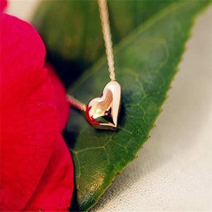 Oiko Store necklace FREE Romantic Heart Shape Body Pendant Necklace