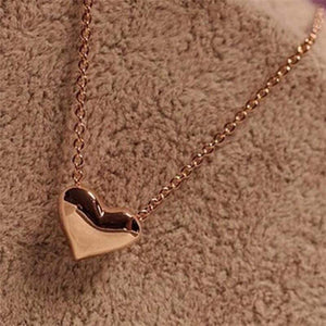 Oiko Store necklace Romantic Heart Shape Body Pendant Necklace