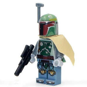 Oiko Store  PG-44 Without Box Building Blocks Wars Bricks Darth Vader Yoda Rey PoE Dameron Mandalorian Jango Fett Drabatan Figures For Children Toys KF6111