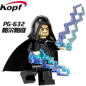 Oiko Store  PG632 Without Box Building Blocks Wars Bricks Darth Vader Yoda Rey PoE Dameron Mandalorian Jango Fett Drabatan Figures For Children Toys KF6111