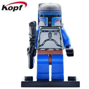 Oiko Store  PG641 Without Box Building Blocks Wars Bricks Darth Vader Yoda Rey PoE Dameron Mandalorian Jango Fett Drabatan Figures For Children Toys KF6111